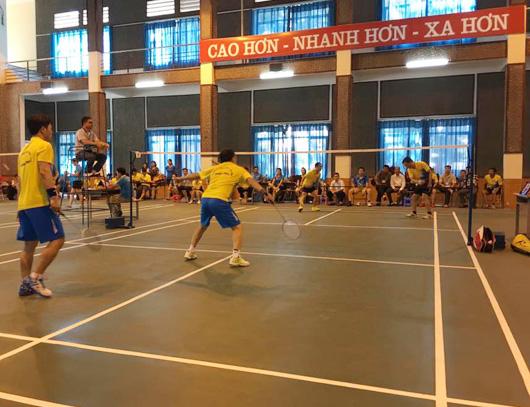 (10/02/2017)- Giải cầu lông, bóng bàn chào Xuân Đinh Dậu
